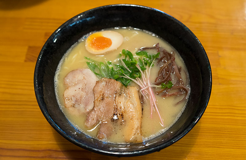 Special chicken ramen in Ramen Place- Yodogawa Base