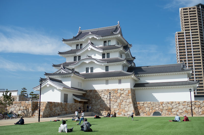 Open space in front of Amagasaki Castle