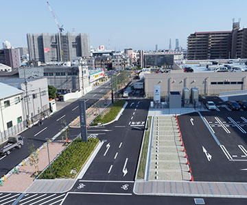 Things Have Changed Around Fuku Station (Rooftop View)